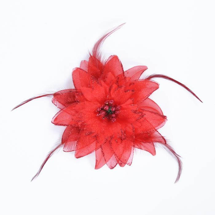 Belly Dancing Flower Hair Clip