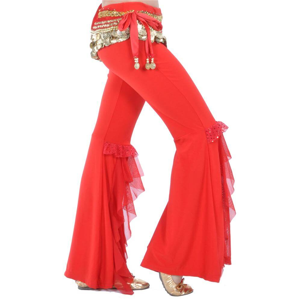 Lotus Leaf Belly Dance Pants