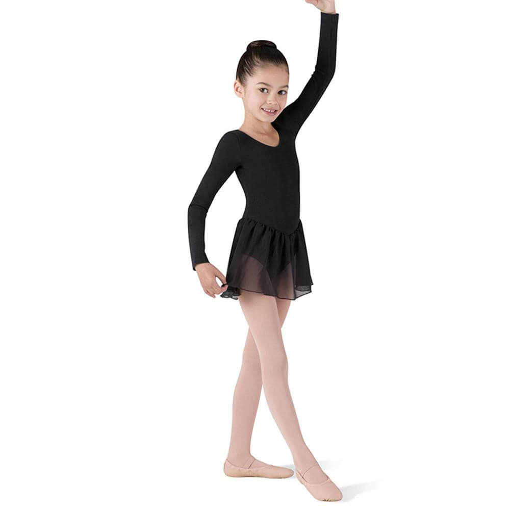 Bloch Child Long Sleeve Dressed Leotard