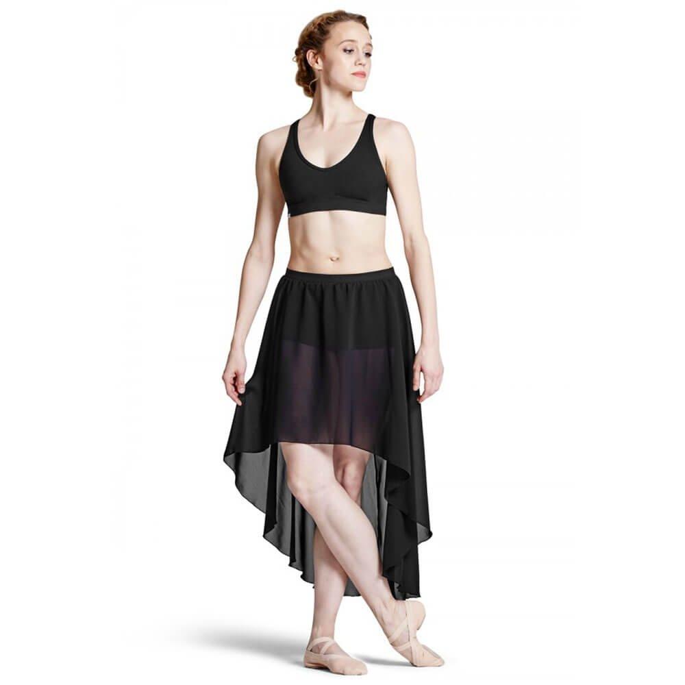 Bloch Adult Daria Hi-low Georgette Skirt