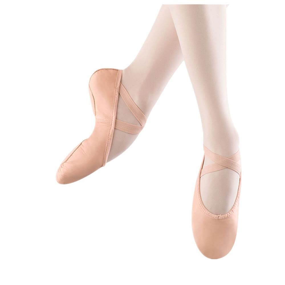 Bloch S0208l Adult Prolite Ii Leather Ballet Flat