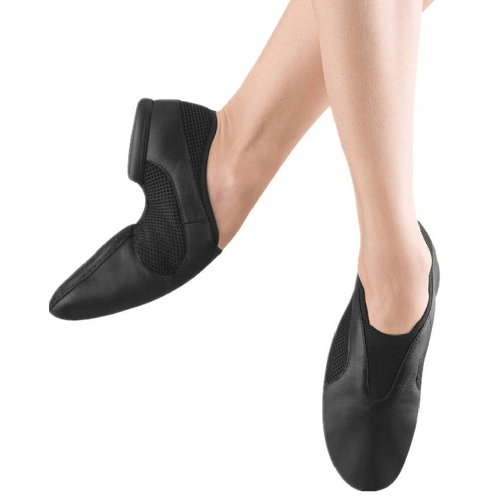 Bloch S0431l Adult Flow Slip On Jazz Shoe