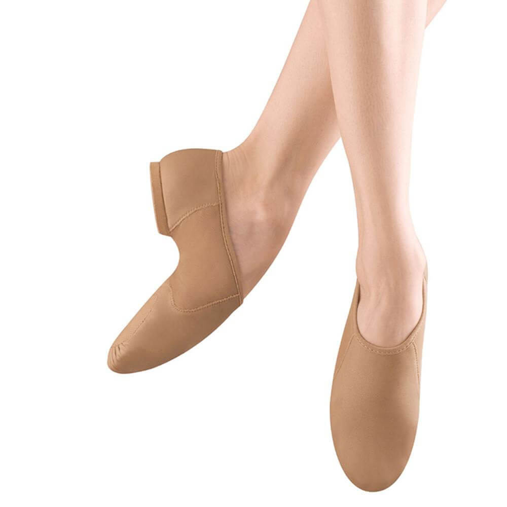 Bloch S0495l Adult Neo-flex Slip On Jazz Shoes