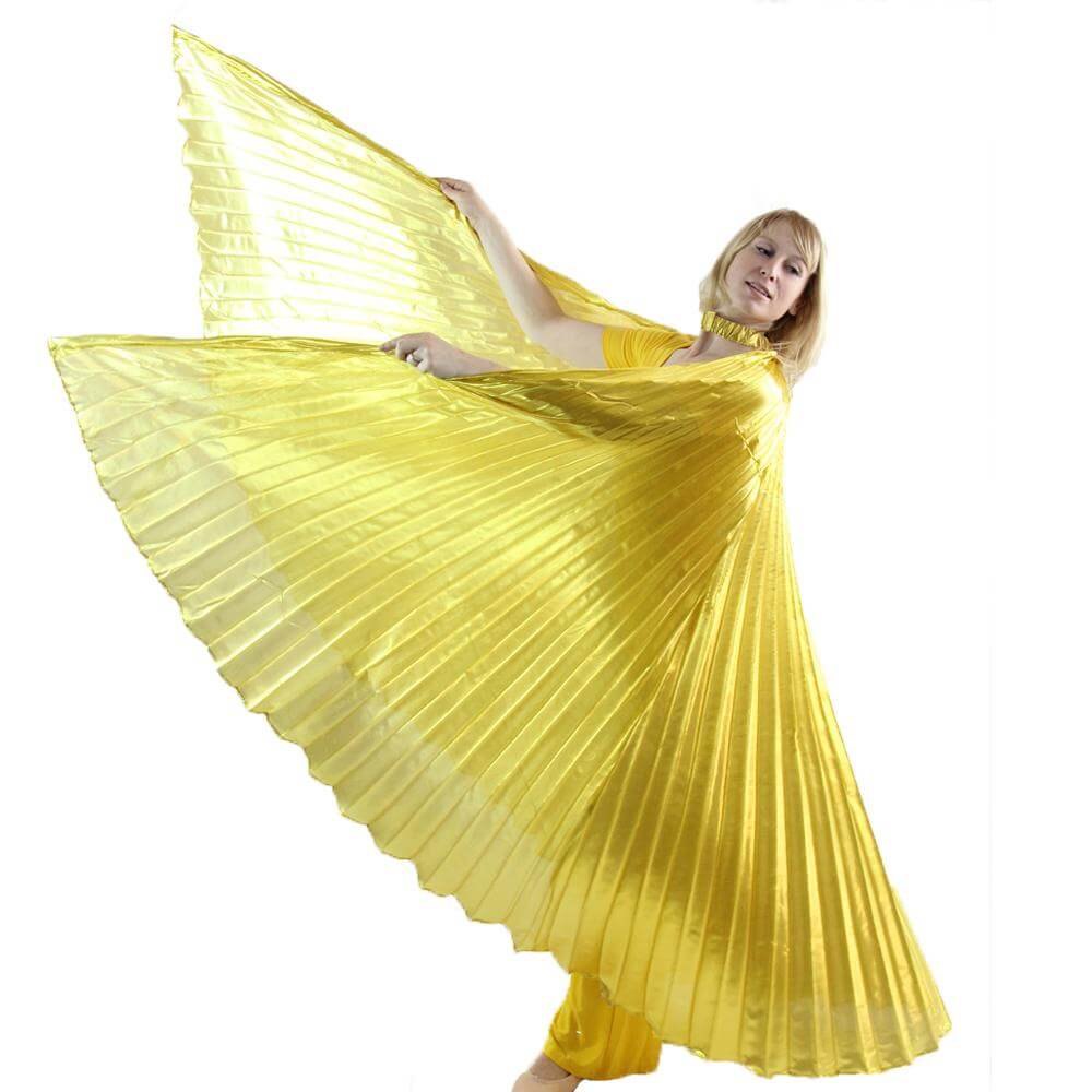 Danzcue Solid Gold Worship Angel Wing
