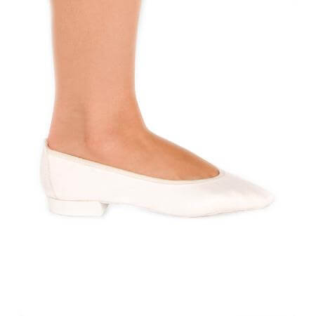 Body Wrappers Angelo Luzio Adult Neena Satin Foldable Slipper