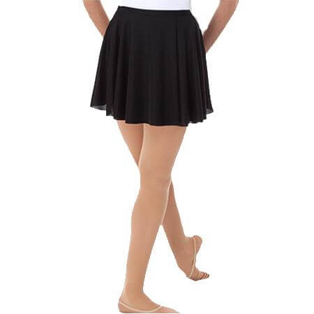 Body Wrappers 14 inch Half Circle Wrap Around Skirt Mid Thigh