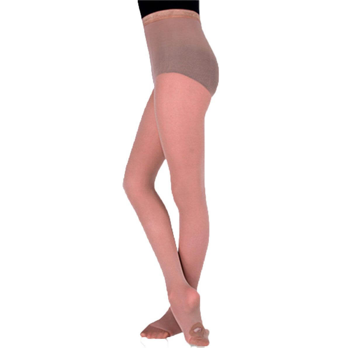 Body Wrappers Totalstretch Adults Convertible Tights