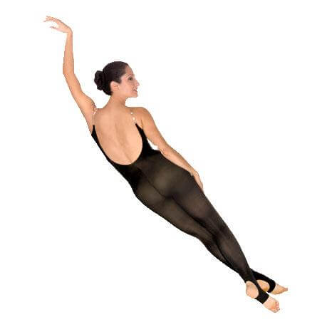 Body Wrappers Totalstretch Camisole Body Stirrup Tights