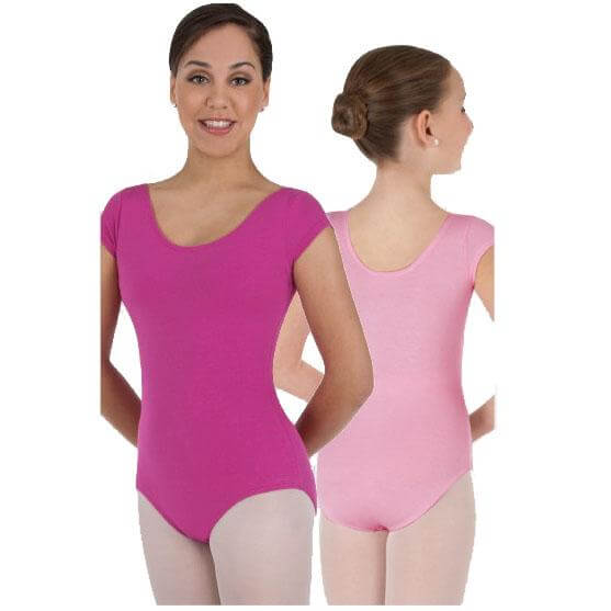 Body Wrappers Child Classwear Short Sleeve Ballet Cut Leotard