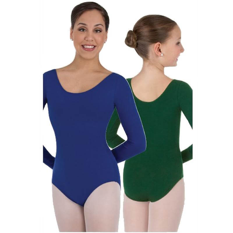 Body Wrappers Child Classwear Long Sleeve Ballet Cut Leotard