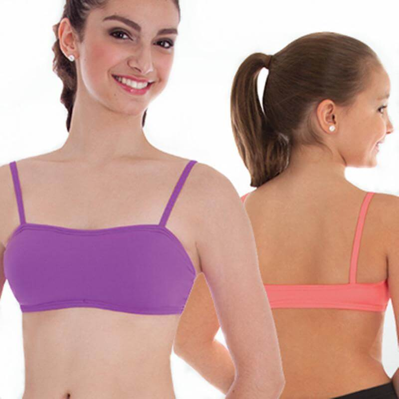 Body Wrappers Adult Camisole Bra with Lightly Padded Front