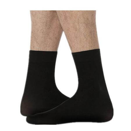 Body Wrappers totalSTRETCH Soft Supplex/Lycra Mens Dance Sock