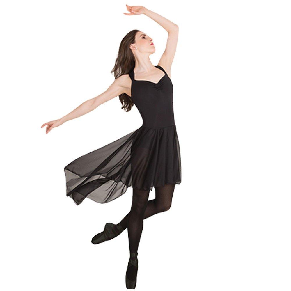 Body Wrappers Cross-strap Low Back Dress