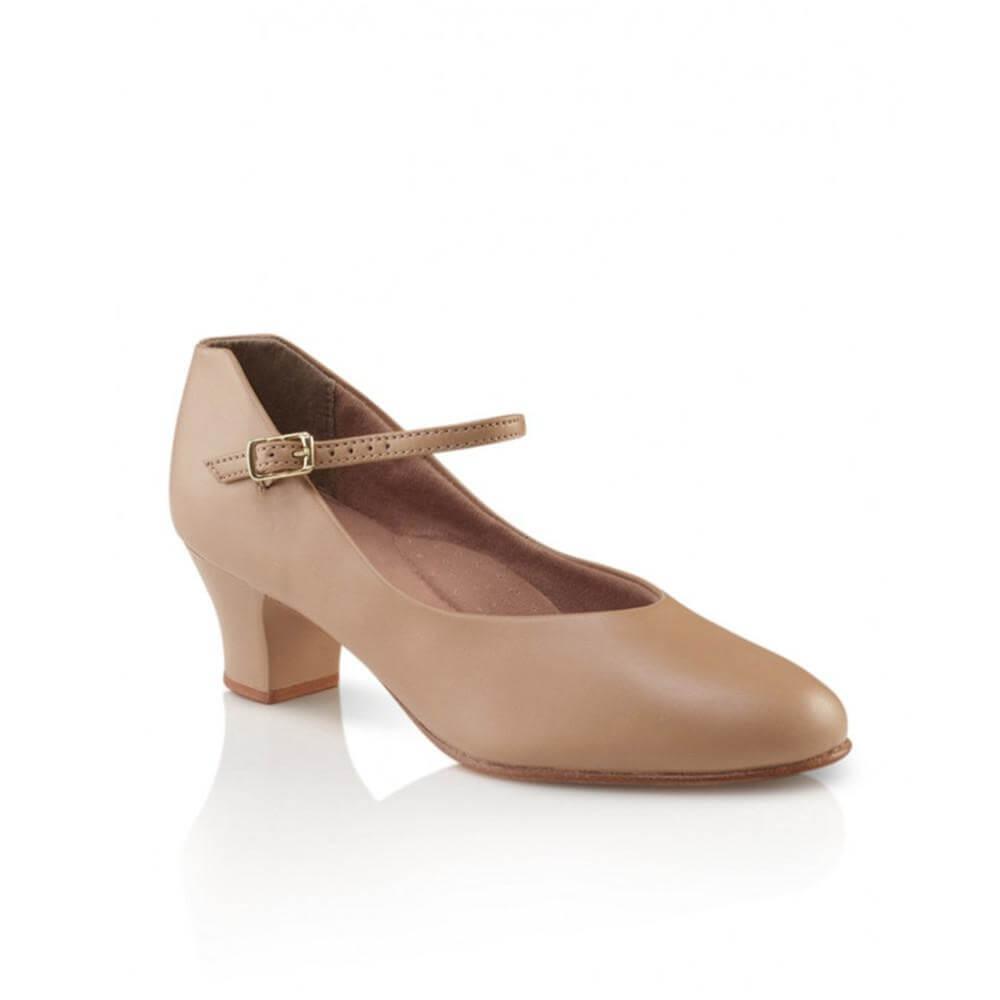 Capezio 550x Child 1 Heel Jr. Footlight Character Shoe