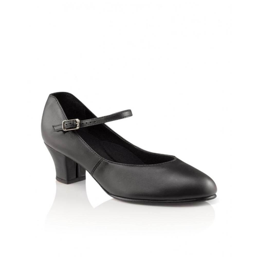 Capezio 551 Adult 1.5 Heel Leather Jr. Footlight Character Shoe