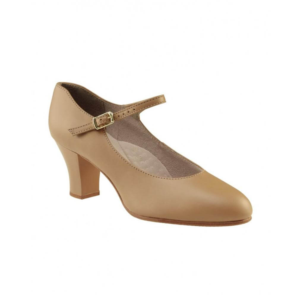 Capezio 650 Adult 2 Heel Student Footlight Character Shoe