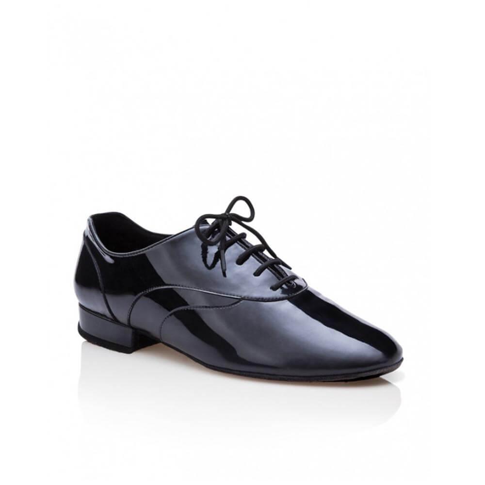 Capezio Br1000p Men Patent Leather Tony Smooth 1 Heel Ballroom Shoe