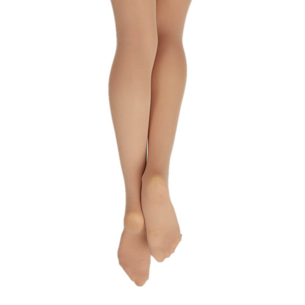 Capezio Adult Hold Stretch Plus Size Footed Tight