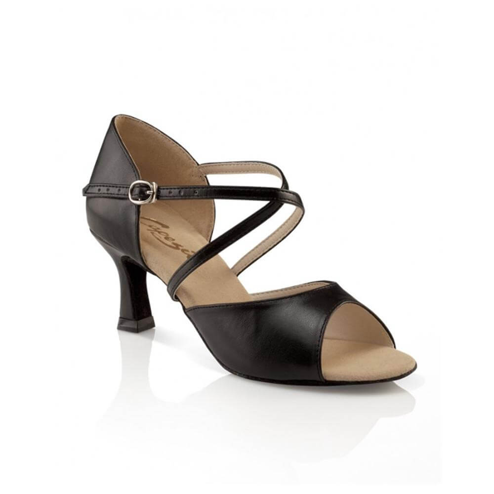 Capezio Sd01 Adult Eva 2 Heel Ballroom Shoe