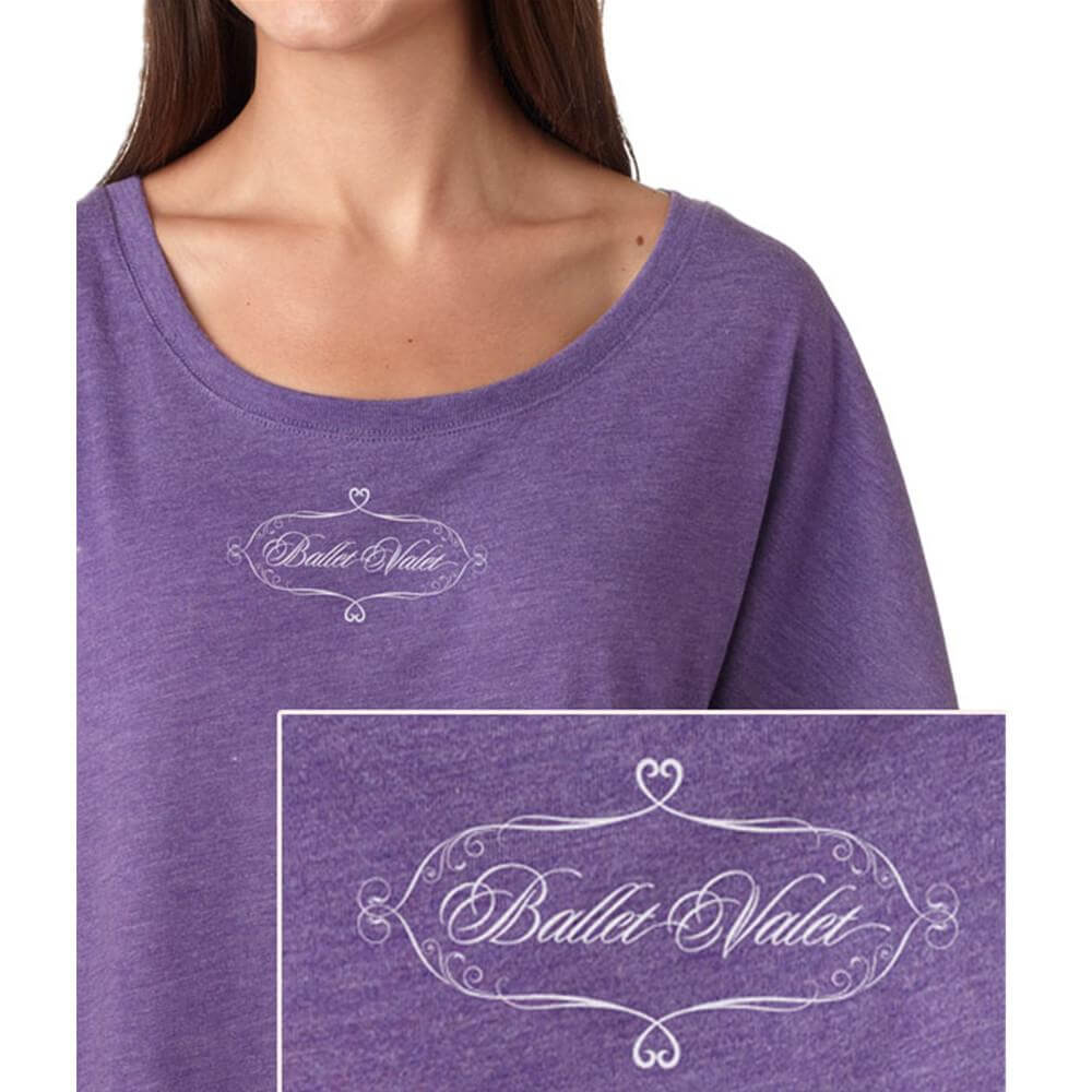 Covet Ballet Valet  Dance Mom Dolman Tee