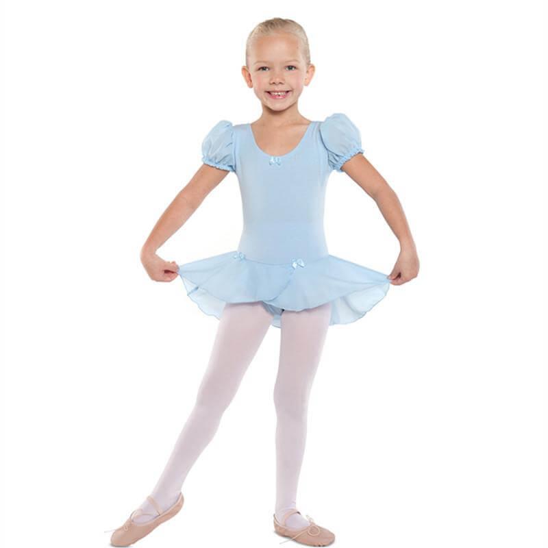 Danshuz Child Puff Sleeve Dress