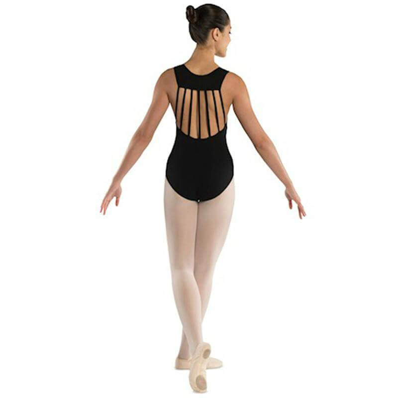 Danshuz Adult Seven Straps Back Leotard