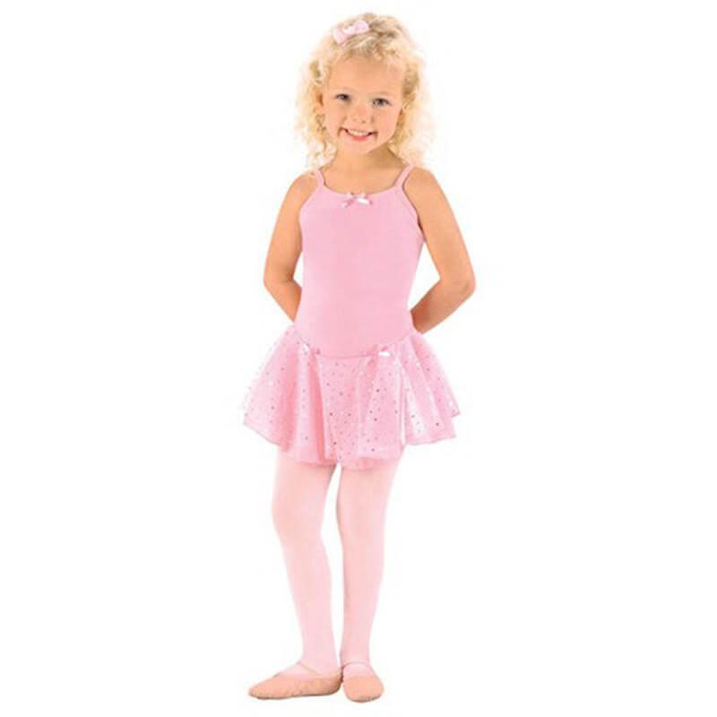 Danshuz Child Camisole Dress W/ Hologram Skirt