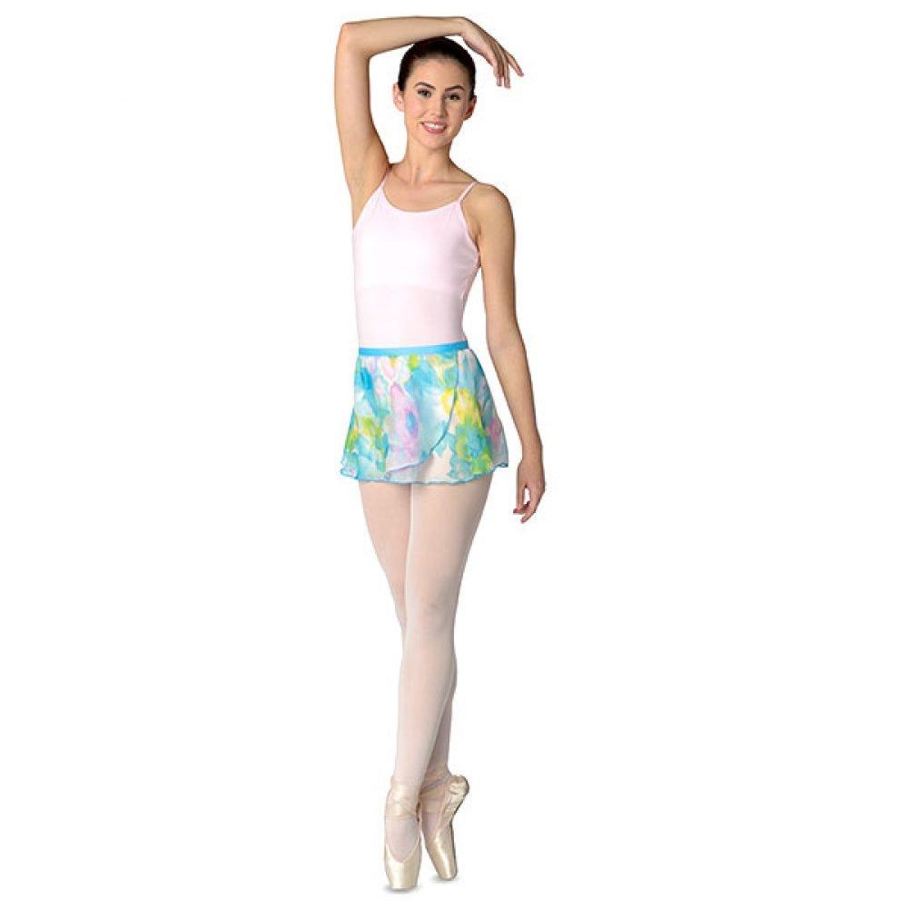 Danshuz Watercolor Flower Print Skirt