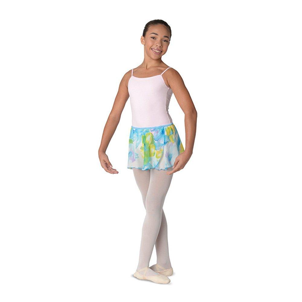 Danshuz Elasticized Waist On Over-lapping Circle Skirt