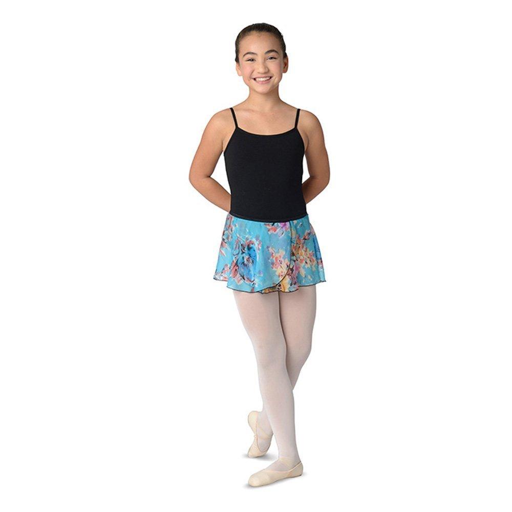Danshuz Elasticized Waist On Over-lapping Skirt
