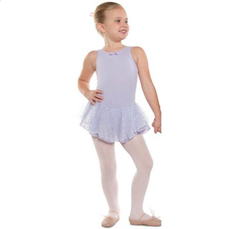 Danshuz Child Tank Dress W/ Hologram Skirt