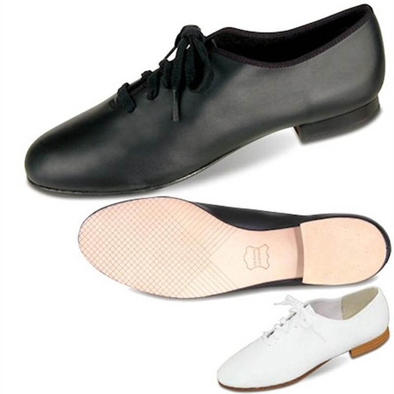 Danshuz Leather Classic Jazz Lace Up Tap Shoe