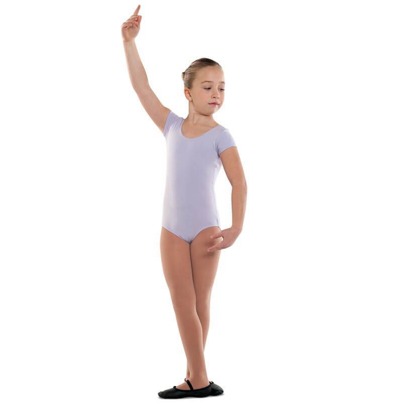 Danshuz Child Cotton Cap Sleeve Leotard