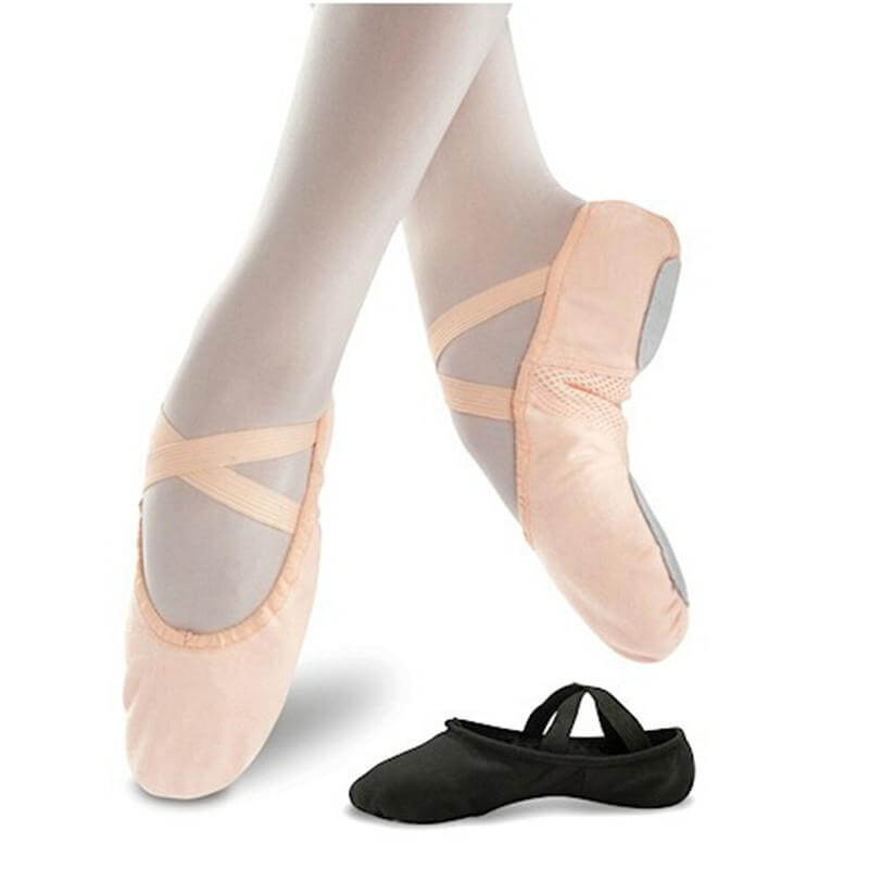 Danshuz Pro Soft Canvas Ballet Slipper