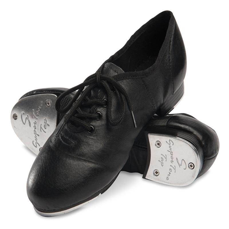 Danshuz Split Sole Jazz Lace Up Tap Shoe