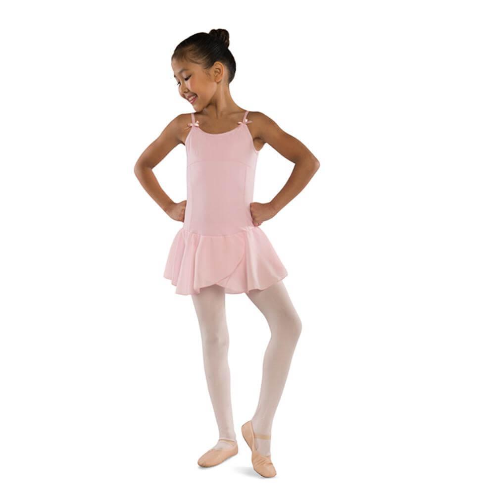 Danshuz Child Camisole Dress W/ Empire & Princess Seam Detail