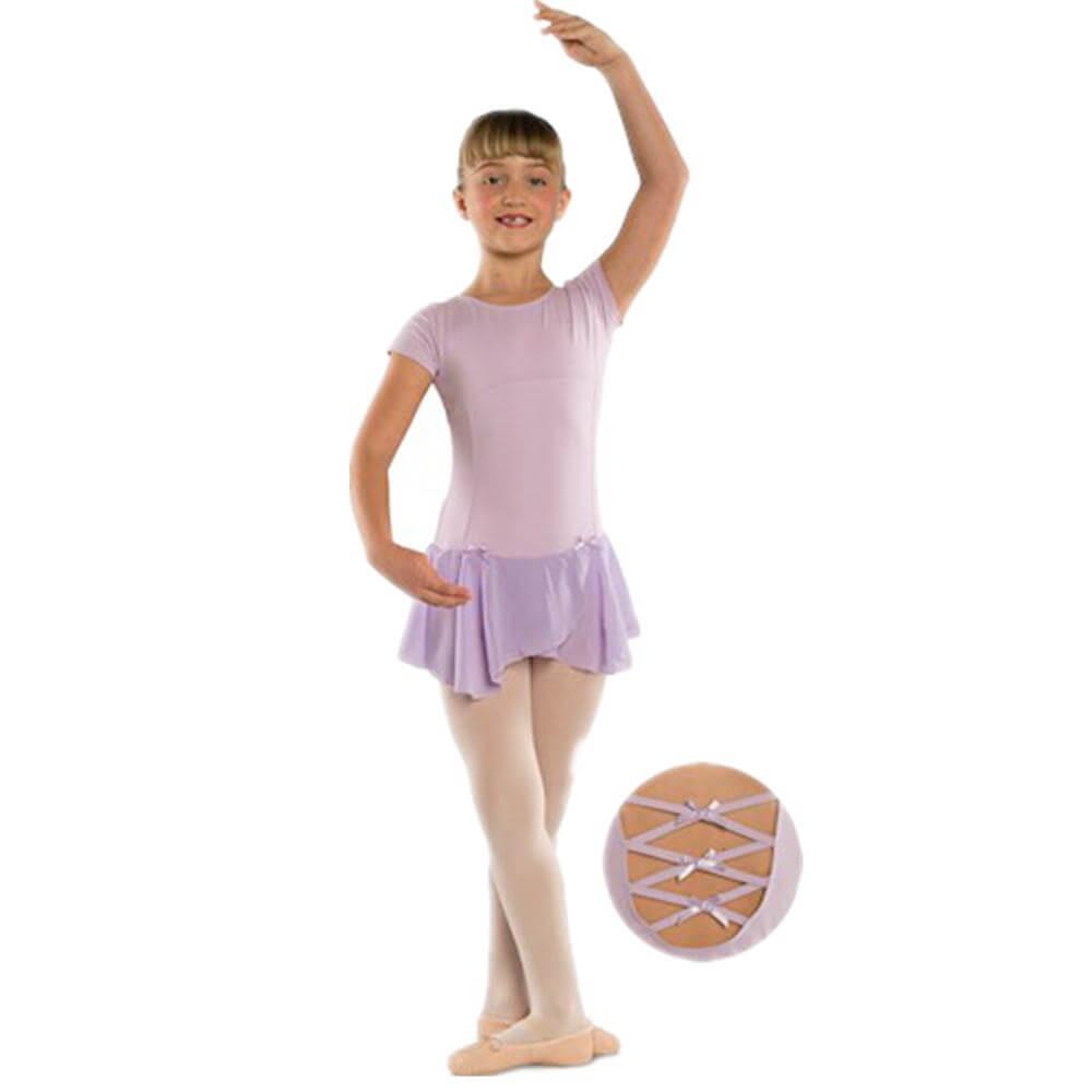 Danshuz Child Cap Sleeve Dress w/ Empire & Princess Seam