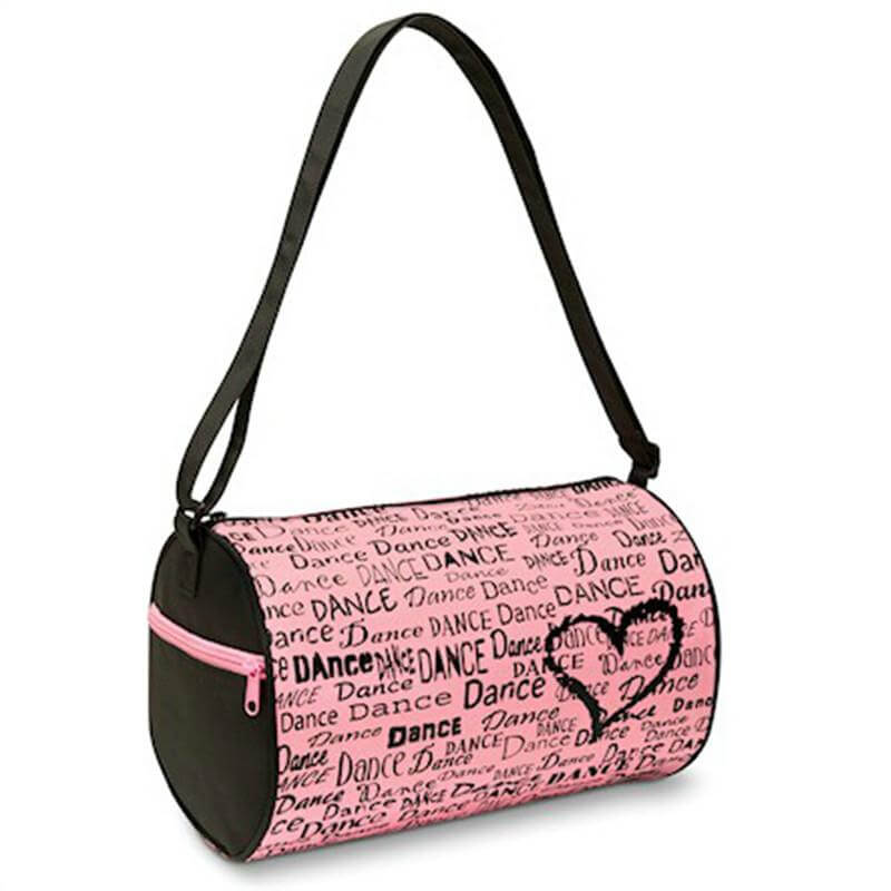 Danshuz Dance is in My Heart Duffel Bag