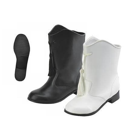 Danshuz Child Gotham Majorette Boots White