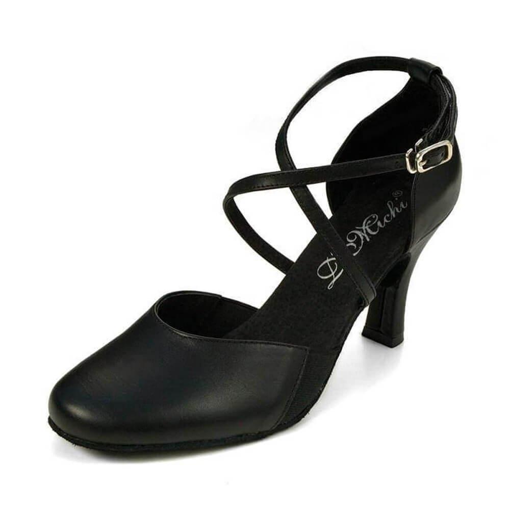 Dimichi Adult Sasha Close-toe 2.0 Heel Ballroom Shoe