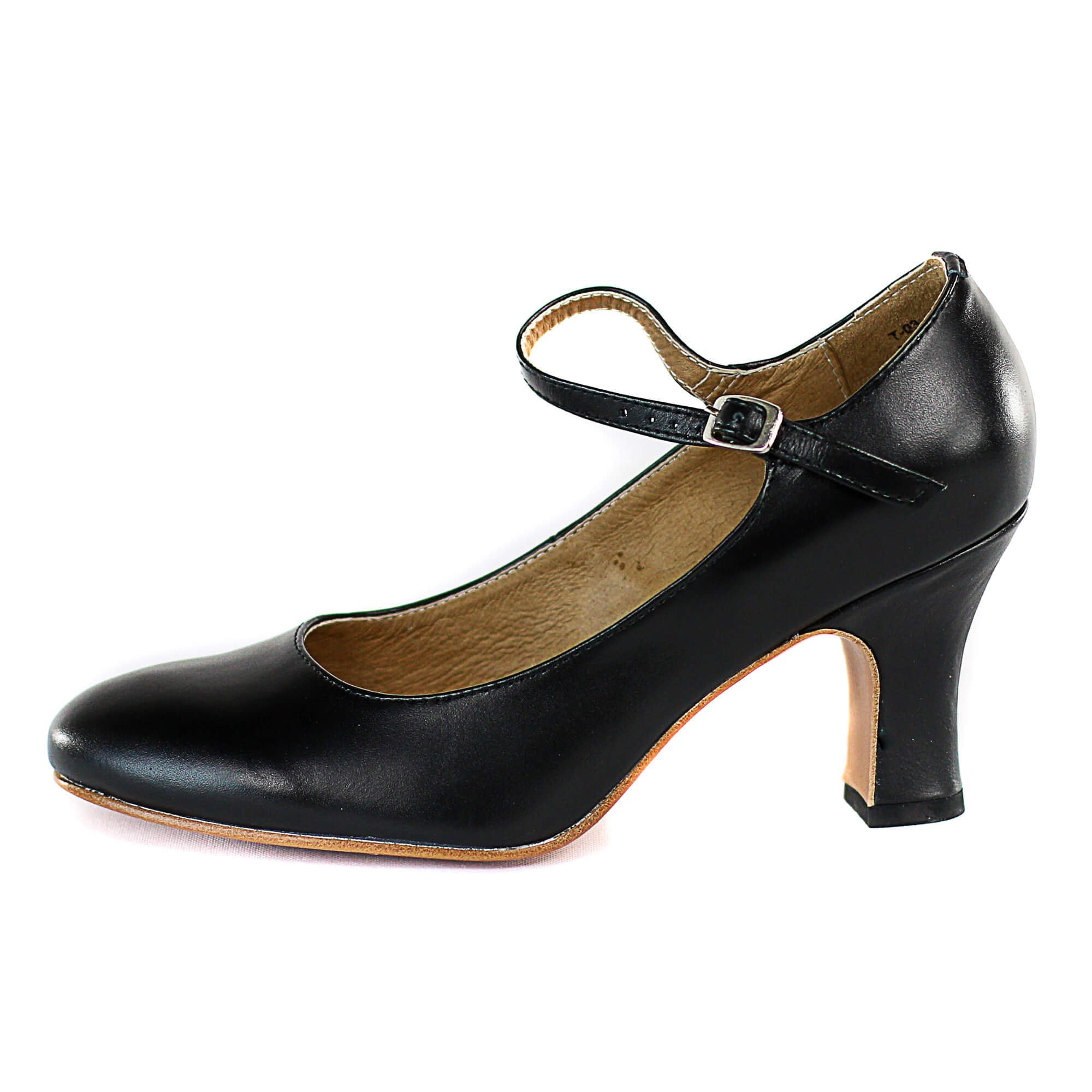Dimichi Adult Mia Classic Leather Sole 3 Heel Character Shoes
