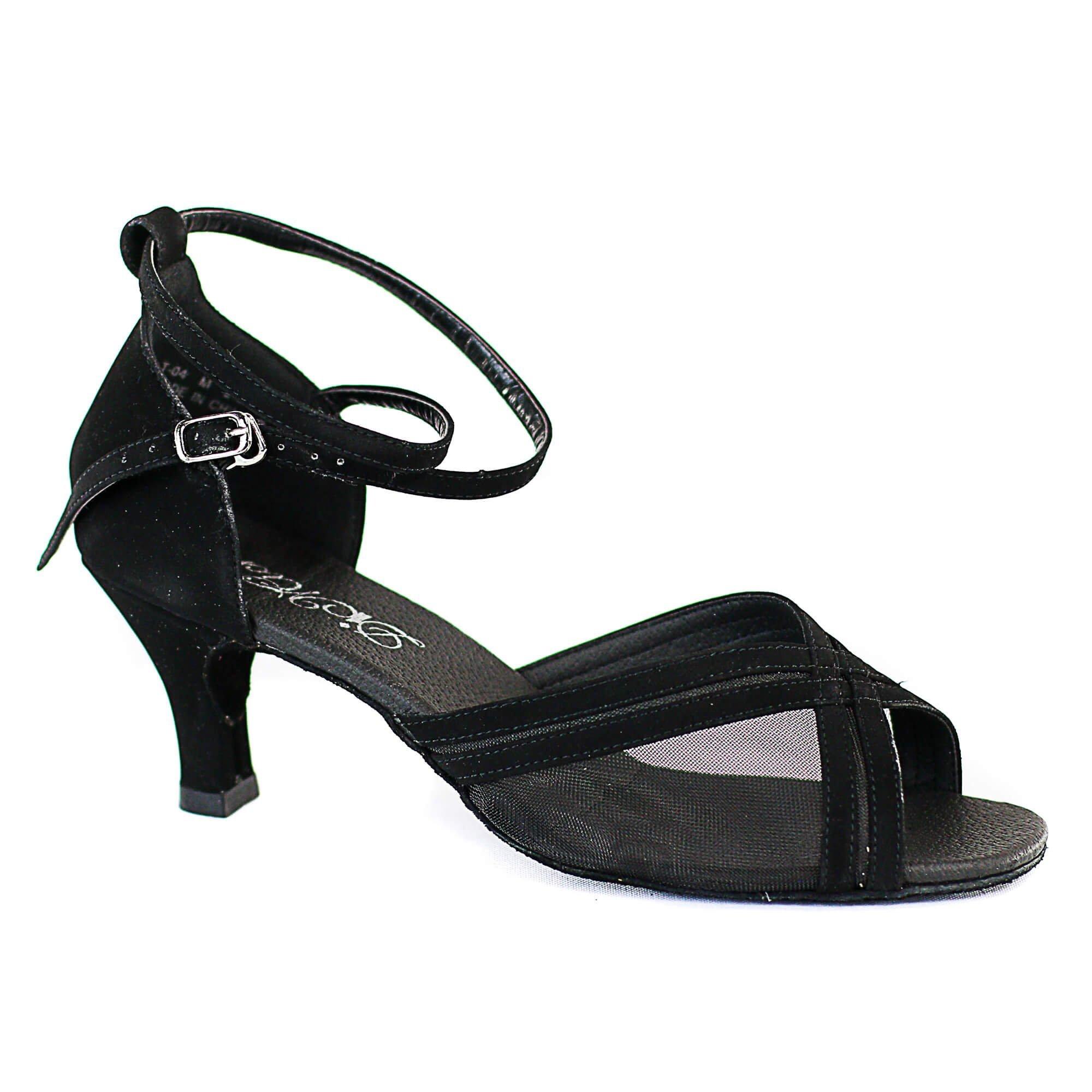 Dimichi Marissa Suede Sole Heel 3 Ballroom Shoes