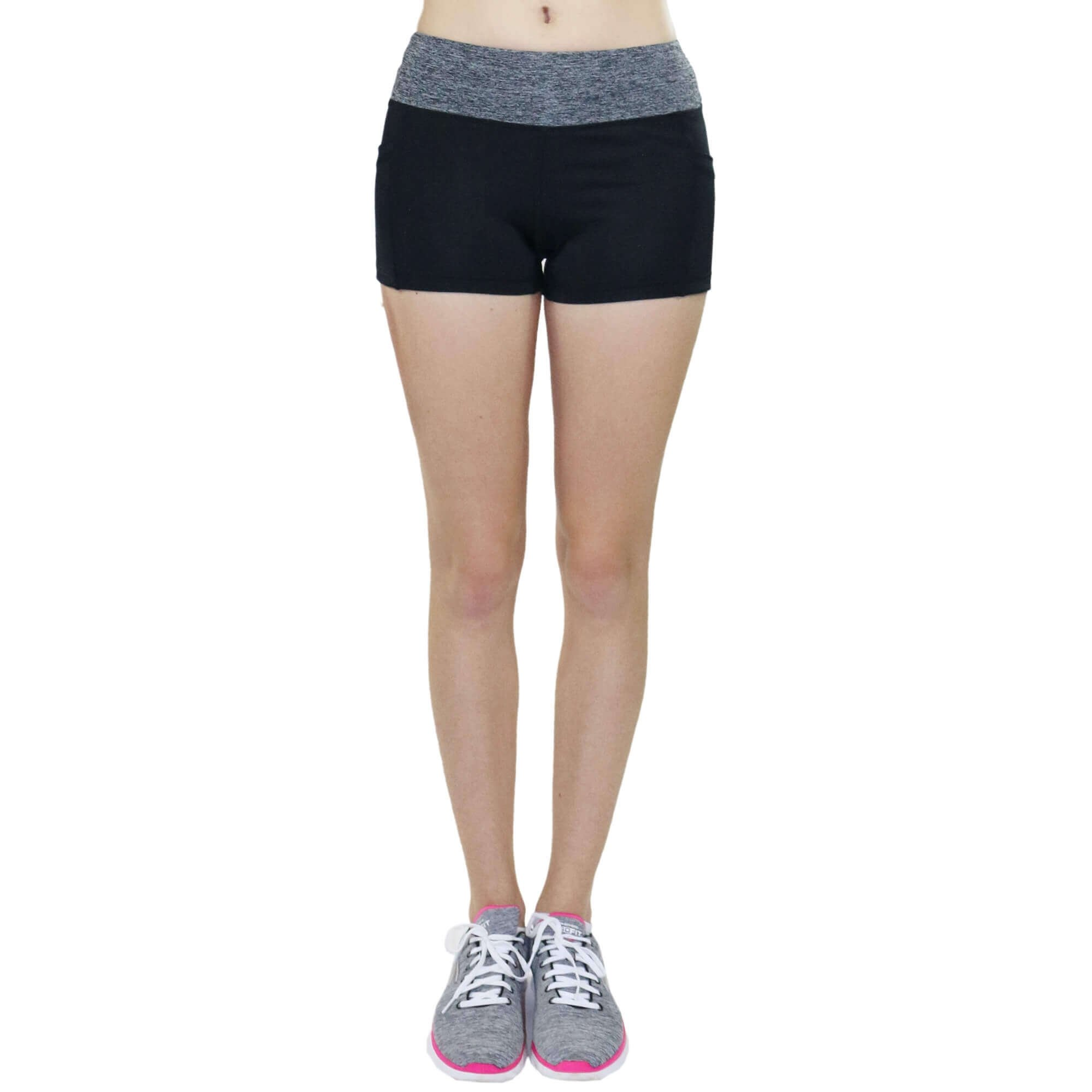Fitcue Women's Active Fitness Shorts
