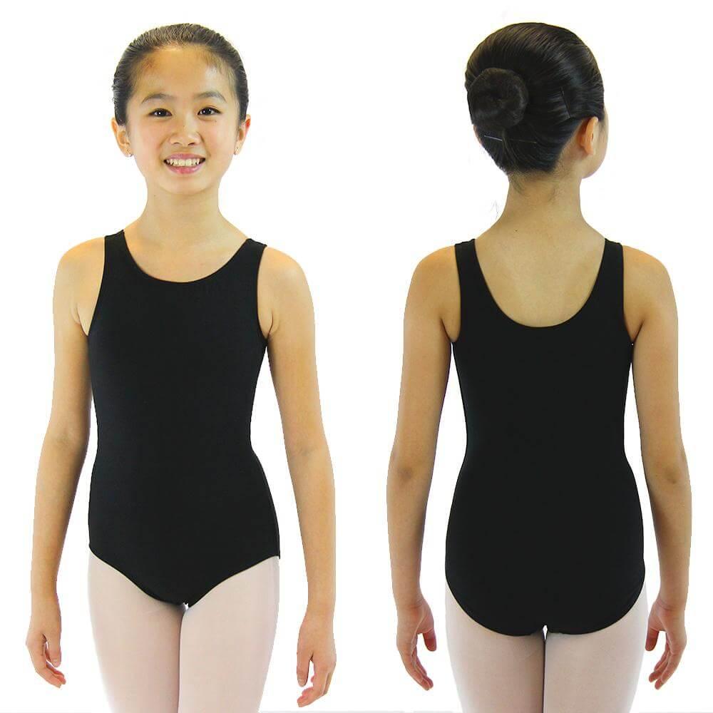 Danzcue Child Nylon Tank Ballet Cut Leotard