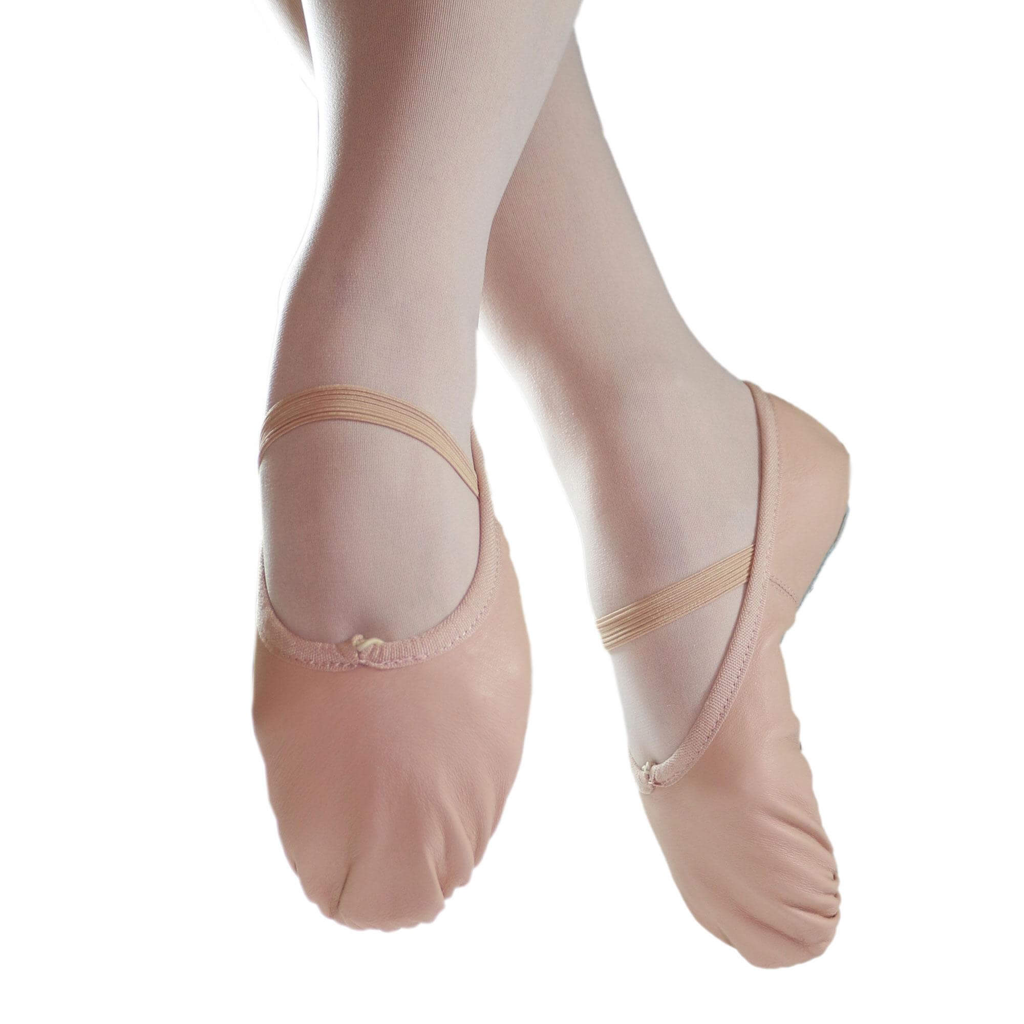 Danzcue Adult Full Sole Leather Ballet Slipper
