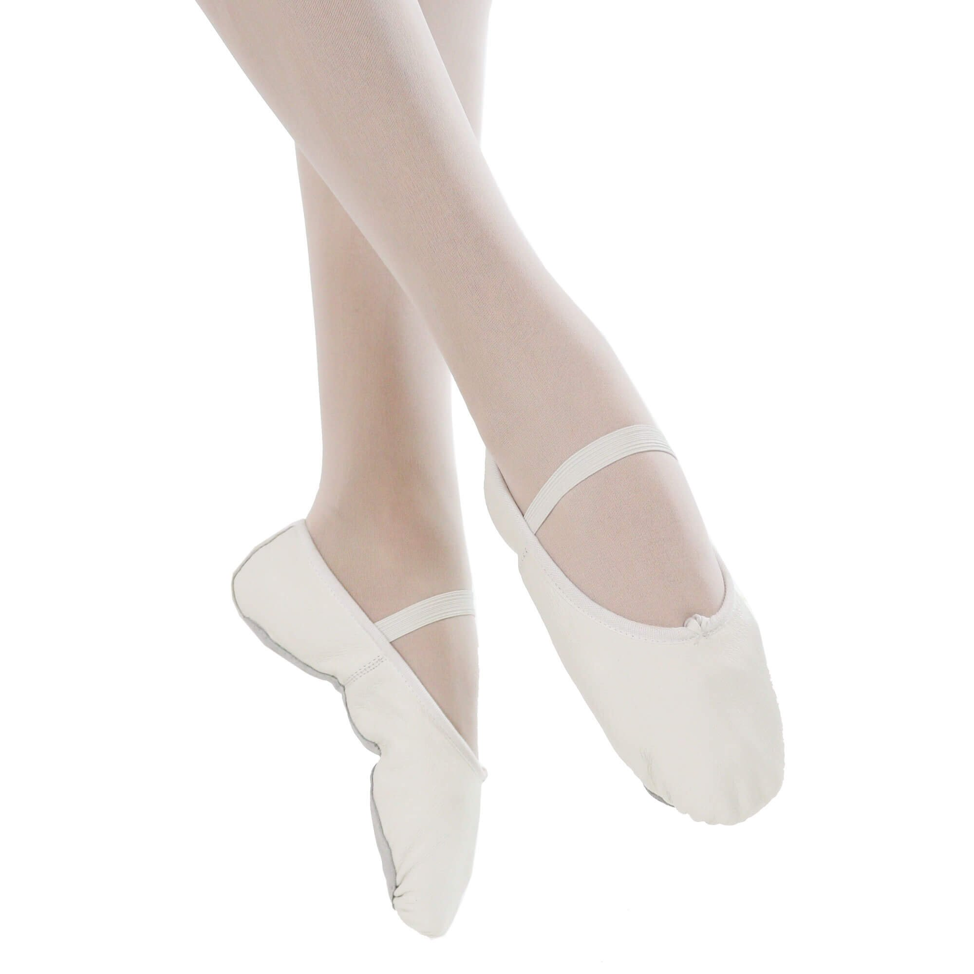 Danzcue Child Full Sole Leather Ballet Slipper