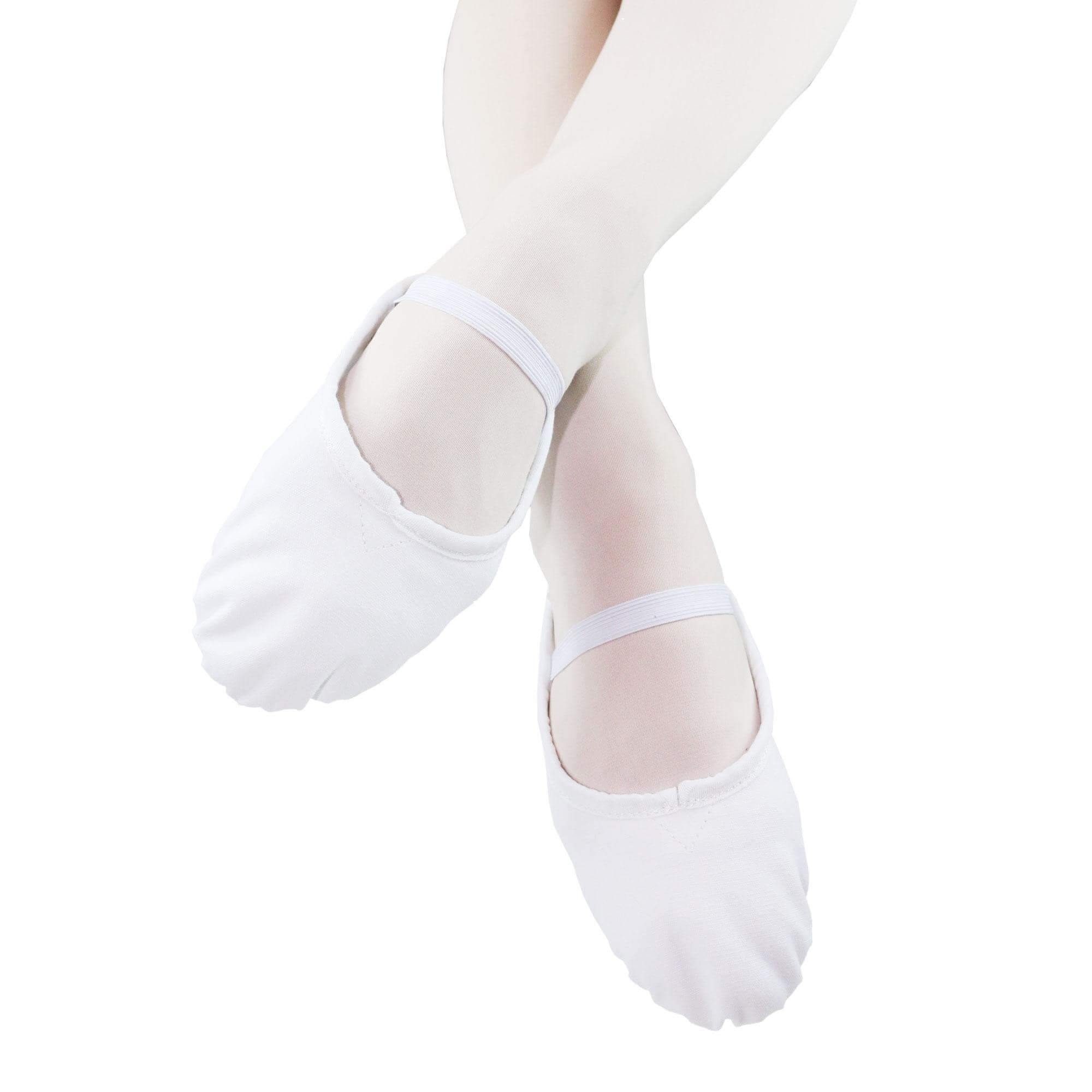 Danzcue Child Full Sole Canvas Ballet Slipper