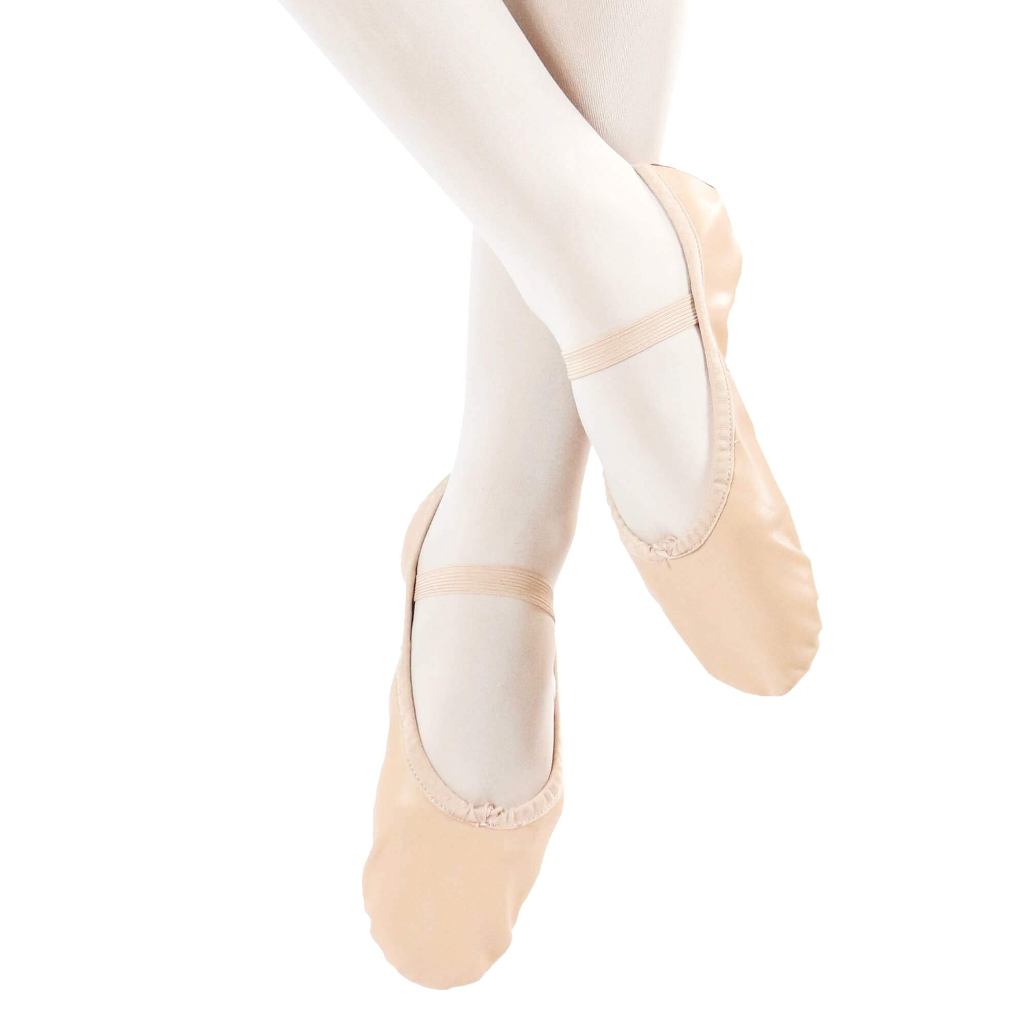 Danzcue Adult Full Sole Leather Ballet Dance Slipper