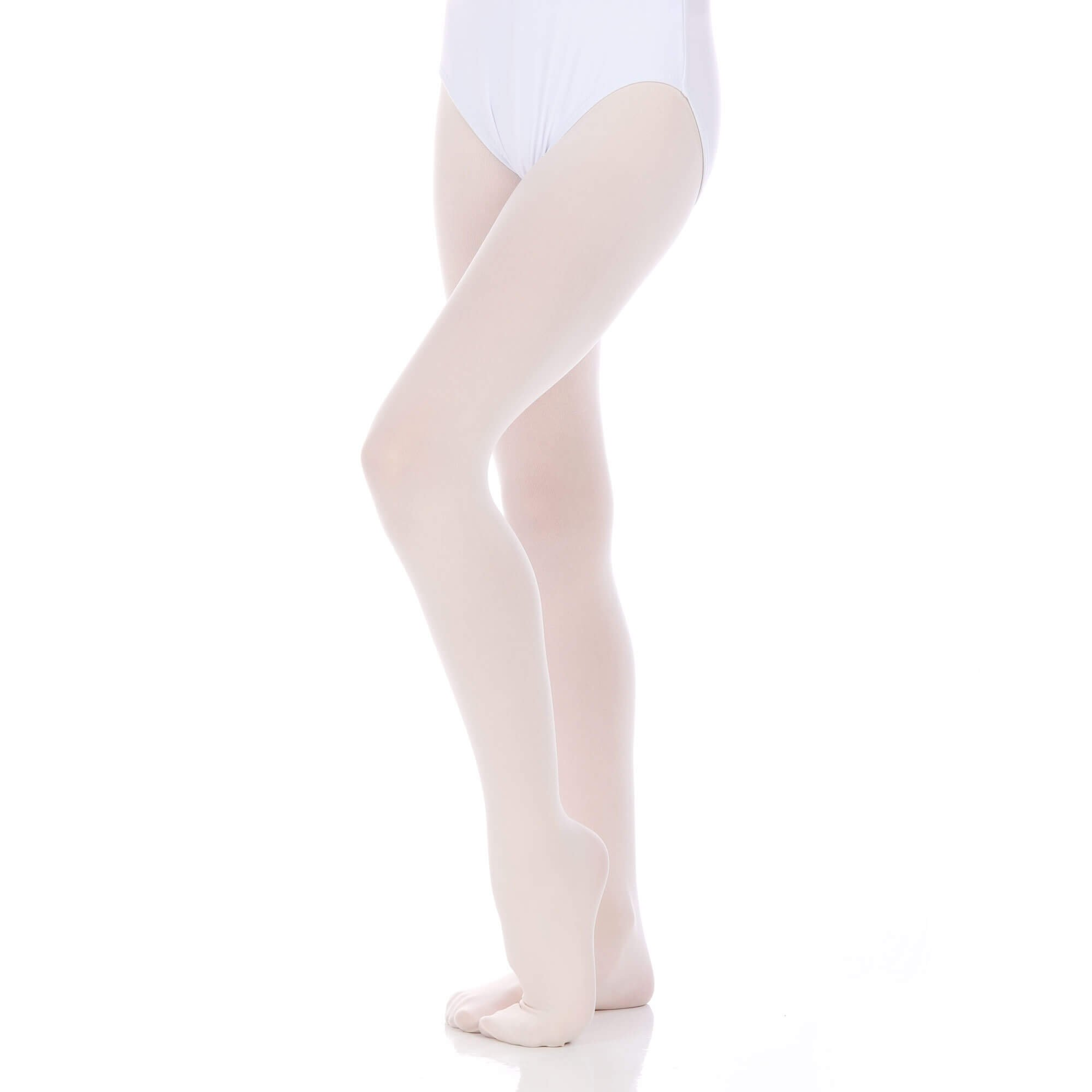 Danzcue Girls Ultrasoft Footed Tights