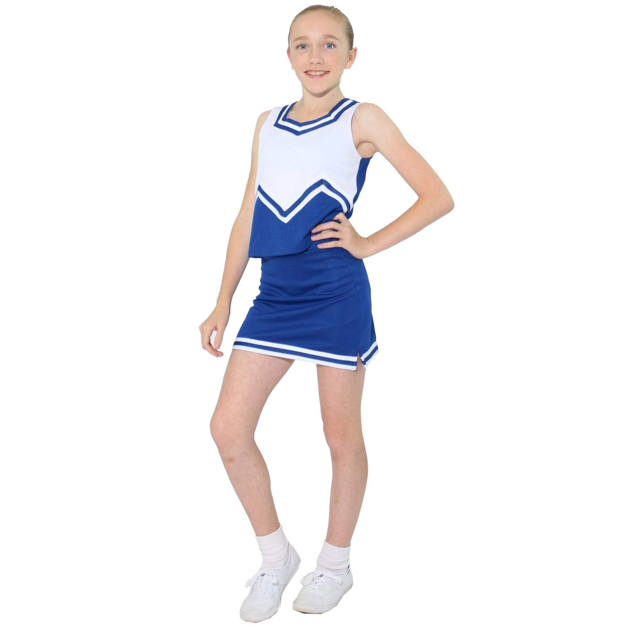 Danzcue Child M Sweetheart Cheerleaders Uniform Set